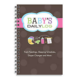 Kahootie Co® Baby's Daily Log Notebook in Brown
