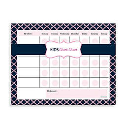 Kahootie Co® Kids Chore Chart Notepad in Pink/Blue