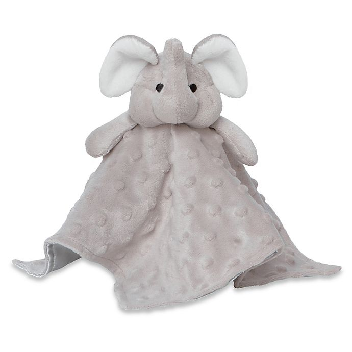 Alternate image 1 for Elegant Baby® Elephant Blankie Buddy in Grey