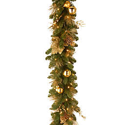 National Tree Company Elegance Battery-Operated 6-Foot Pre-Lit Garland