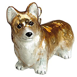 Pet Set Joy to the World Collectibles Pembroke Welsh Corgi Christmas Ornament