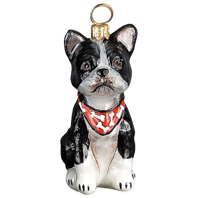 Boston Christmas Tree Delivery: Pet Set Joy To The World Collectibles Boston Terrier With