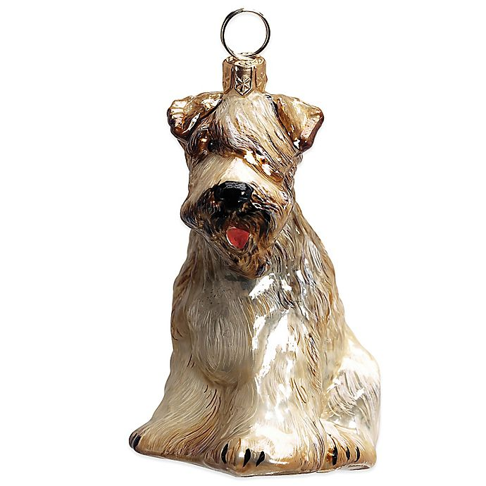 Alternate image 1 for Pet Set Joy to the World Collectibles Soft Coated Wheaten Terrier Christmas Ornament