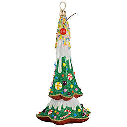 Glitterazzi Joy to the World Collectibles Gnome Sweet Gnome Tree Christmas Ornament