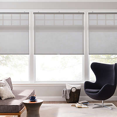 Real Simple® Cordless 10% Open Solar Roller Shade
