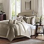 Madison Park Amherst 7-Piece Queen Comforter Set in Ivory/Beige