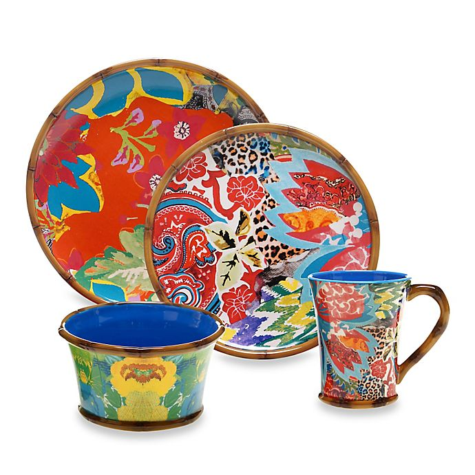 Tracy Porter Poetic Wanderlust Magpie Dinnerware Collection Bed