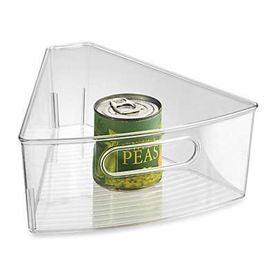 iDesign® Cabinet Binz™ Lazy Susan Eighth Wedge Storage Bin