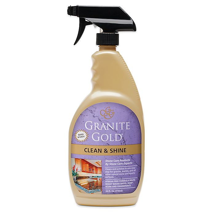 Alternate image 1 for Granite Gold® 24 oz. Clean and Shine Daily Cleaner