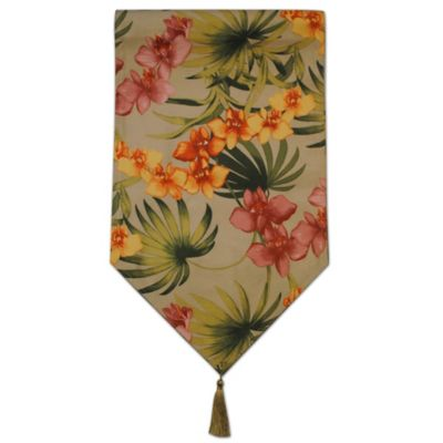 Tommy Bahama 174 African Orchid Table Runner Bed Bath And