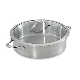 Calphalon® Contemporary Stainless Steel 5-Quart Sauteuse & Cover