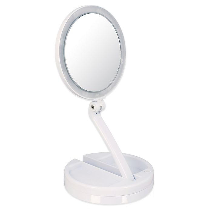 15x Lighted Home and Travel Mirror | Bed Bath & Beyond