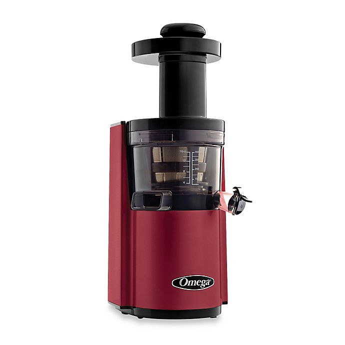 Alternate image 1 for Omega® VSJ843R Low Speed Dual Edge Juicer
