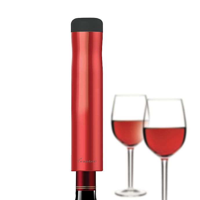 Alternate image 1 for rabbit® Automatic Electric Corkscrew in Red