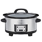 Cuisinart® 6.5-Quart Programmable Slow Cooker in Stainless Steel
