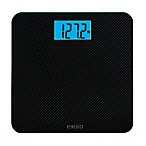 HoMedics® Carbon Fiber Glass Bathroom Scale