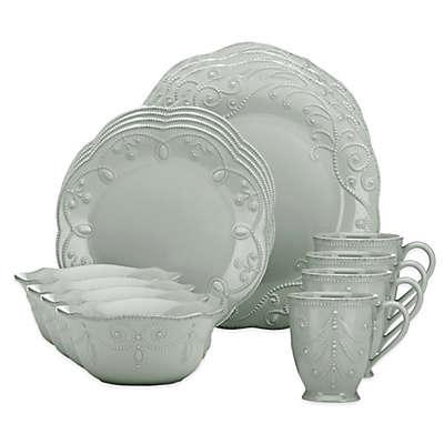 Lenox® French Perle 16-Piece Dinnerware Set in Grey