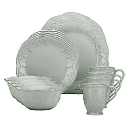 Lenox® French Perle 16-Piece Dinnerware Set in Grey