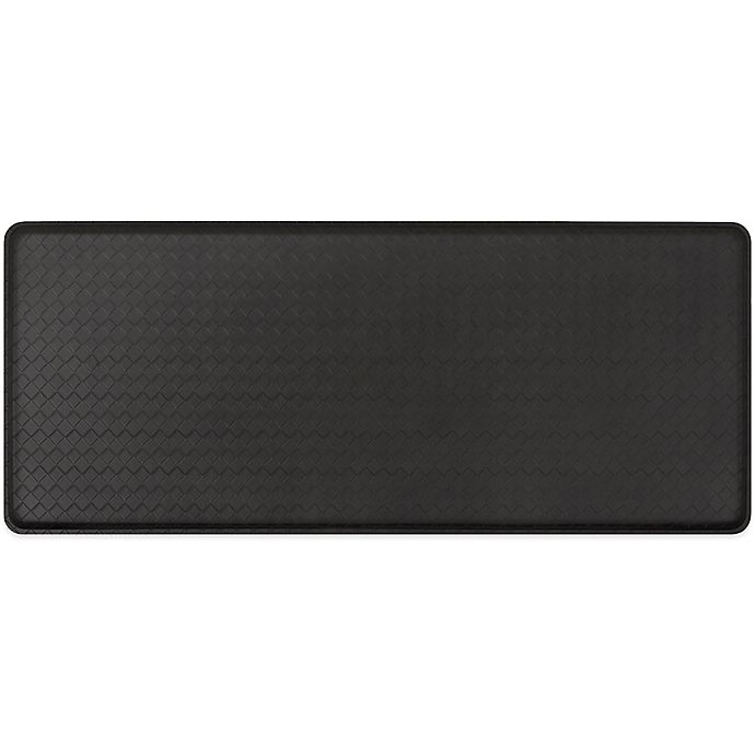 Gelpro 174 Basketweave 20 Inch X 48 Inch Cushion Mat In Black