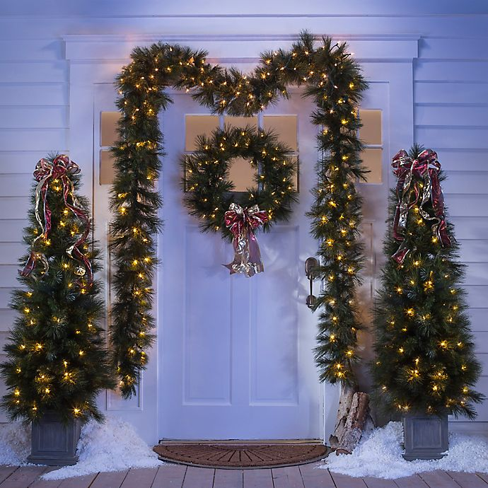 Alternate image 1 for Christmas Décor Greenery Collection
