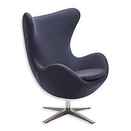 Zuo® Modern Skien Occasional Chair in Iron Grey