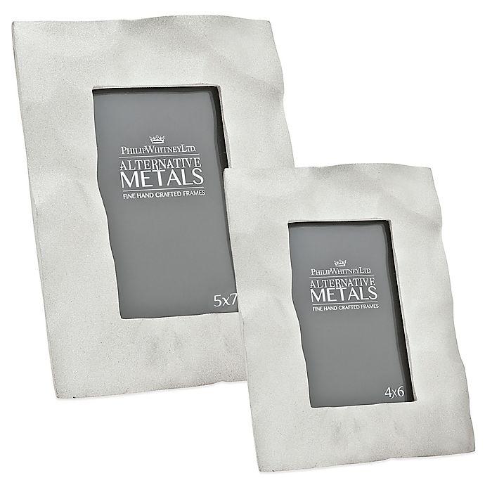 Alternate image 1 for Philip Whitney Alternative Metals Sand Blast Aluminum Frame