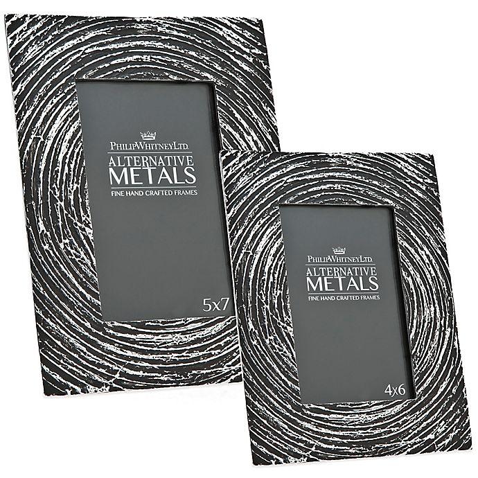 Alternate image 1 for Philip Whitney Alternative Metals Antique Spiral Aluminum Frame