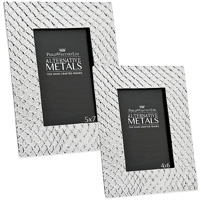 Alternate image 1 for Philip Whitney Alternative Metals Mesh Aluminum Frame
