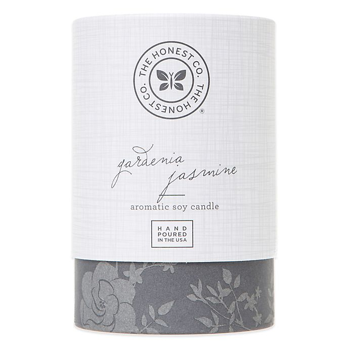 Alternate image 1 for Honest Gardenia Jasmine Aromatic Soy Candle