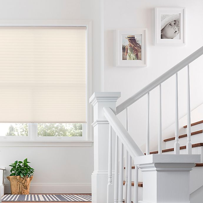Alternate image 1 for Real Simple® Cordless Pleated 64-Inch Length Shade
