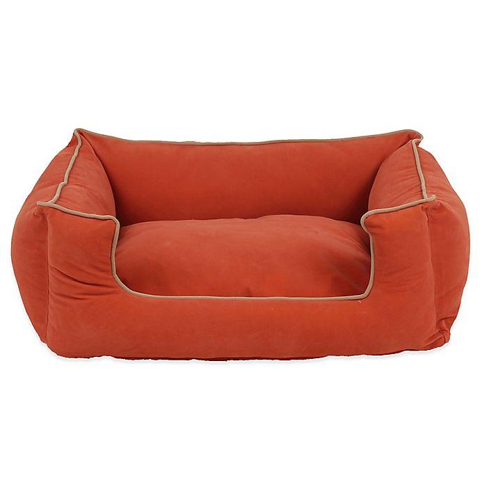 Alternate image 1 for Carolina Pet Company Medium Low-Profile Kuddle Pet Lounge in Apricot