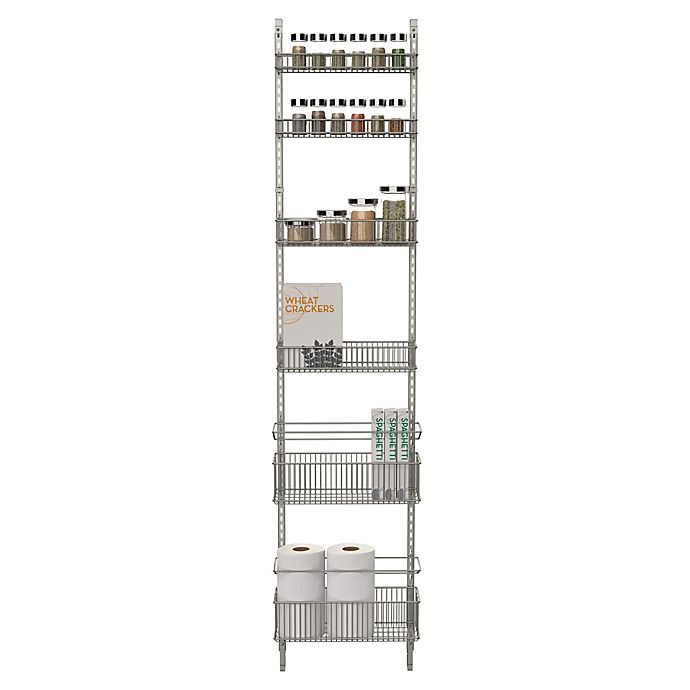 Alternate image 1 for ORG Premium Over-the-Door Steel Frame Pantry Organizer