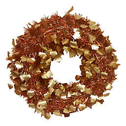 Brite Star 20-Inch Die-Cut Tinsel Wreath