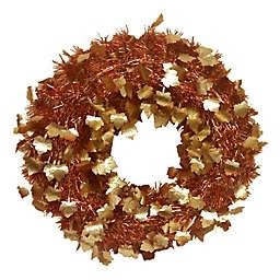 Brite Star 20-Inch Die-Cut Tinsel Wreath