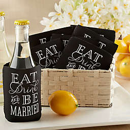 Kate Aspen Eat, Drink & Be Married Can Cozie (Set of 12)