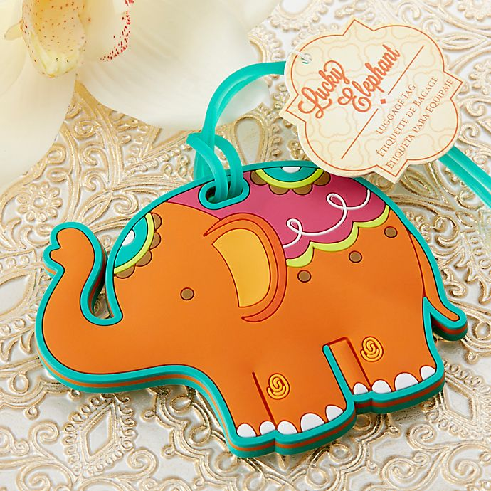dd780e031b10 Kate Aspen® Lucky Elephant Luggage Tag | Bed Bath & Beyond