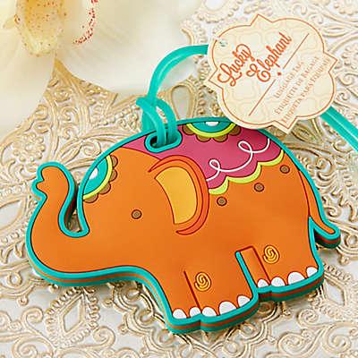 Kate Aspen® Lucky Elephant Luggage Tag