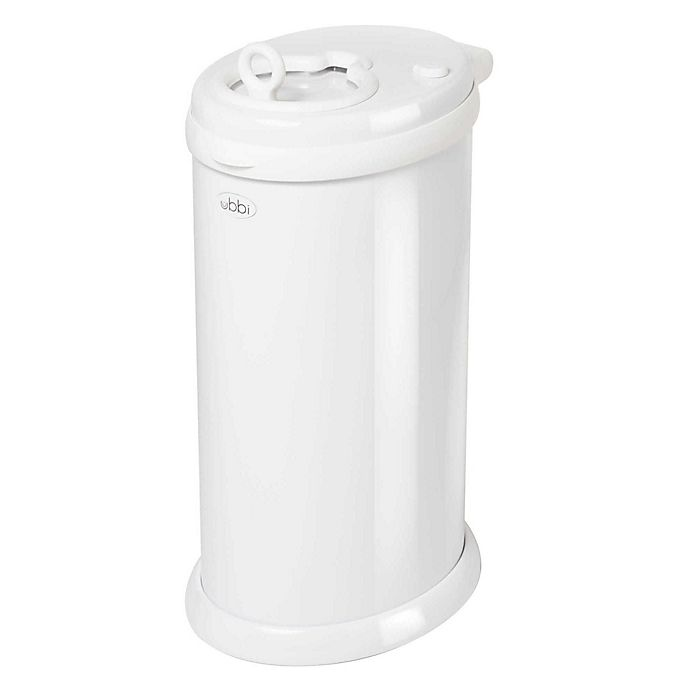 Alternate image 1 for Ubbi® Diaper Pail in White