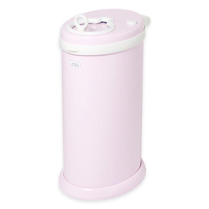 Alternate image 1 for Ubbi® Diaper Pail in Light Pink