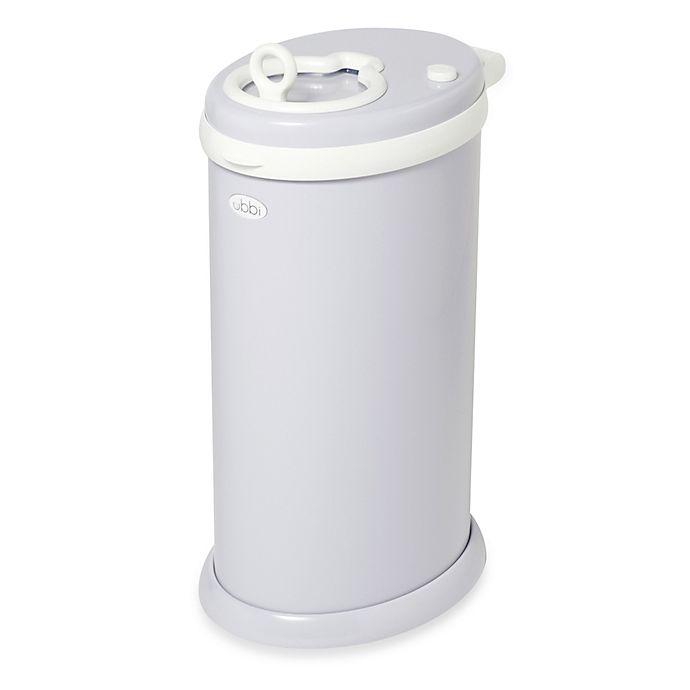 Alternate image 1 for Ubbi® Diaper Pail in Grey