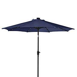 Destination Summer 9-Foot Aluminum Solar Umbrella