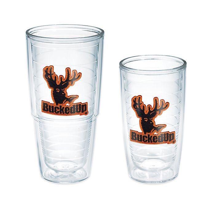Alternate image 1 for Tervis® Bucked Up® Orange Logo Tumbler