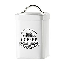 Global Amici Vintage Home Coffee Canister in White