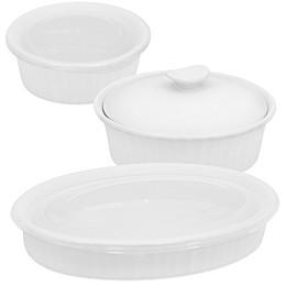 CorningWare® French White® Bakeware