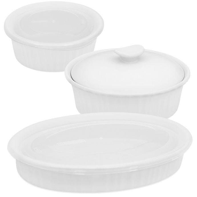 Alternate image 1 for CorningWare® French White® Bakeware