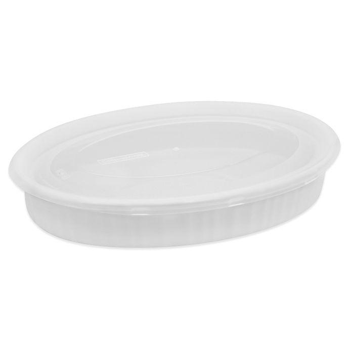 Alternate image 1 for CorningWare® French White® 27 oz. Baking Dish
