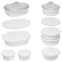 CorningWare® French White® 18-Piece Bakeware Set