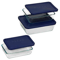 Pyrex® Simply Store® 6-pc Rectangular Set