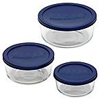 Pyrex® 6-Piece Round Bakeware Set