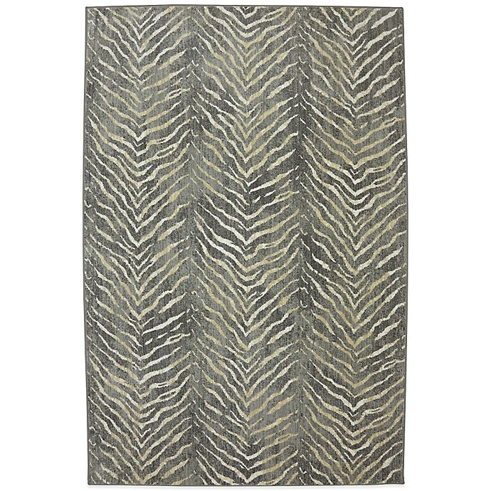 Alternate image 1 for Karastan Euphoria Aberdeen 9-Foot 6-Inch x 12-Foot 11-Inch Rug in Granite